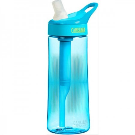 Camelbak 600ml Plastic Filter Water Bottle Groove - aqua