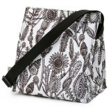 U Konserve insulated lunch bag - small wild leaves
