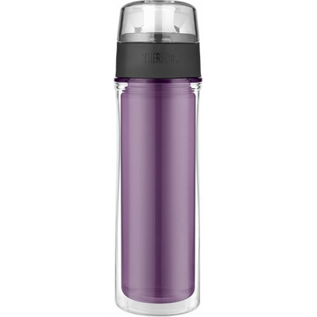 Thermos Tritan Insulated Water Bottle 530ml Purple
