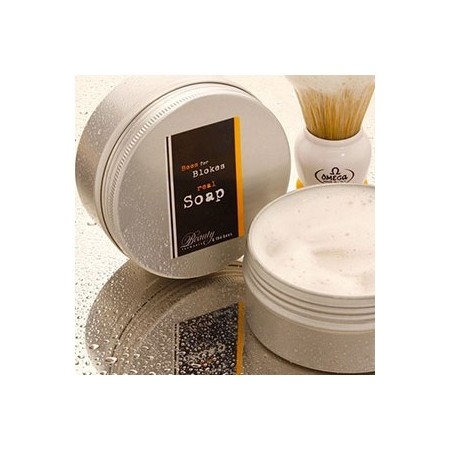 Bees for Blokes shave soap 150g tin
