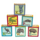 Australian animals boxed soap 60g - kangaroo echidna