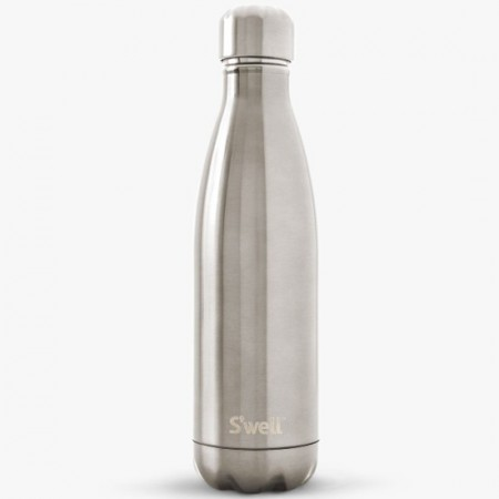 S'well insulated stainless steel Water Bottle 750ml - silver lining