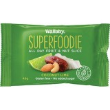 Wallaby superfoodie bar 48g - coconut lime