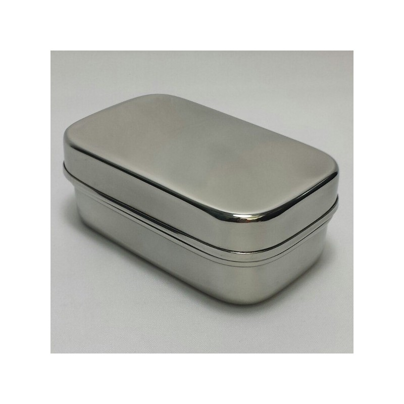 Tiny Tin Stainless Steel Container 150ml Biome