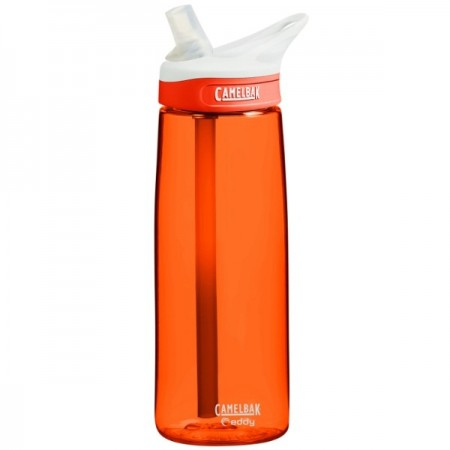 Camelbak 750ml Plastic Water Bottle Eddy - lava orange