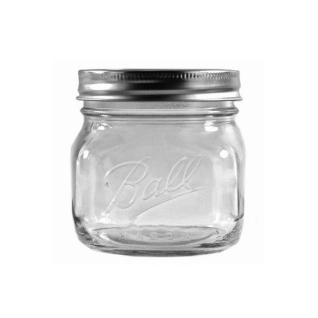 Ball mason jar Pint 440ml wide mouth elite collection