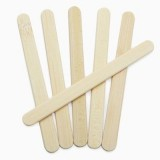 Reusable bamboo ice block popsicle sticks (24)