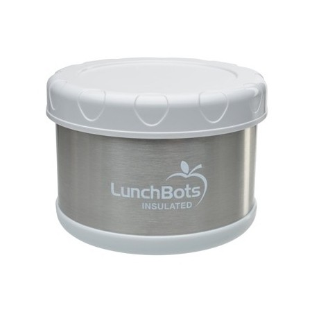 LunchBots Thermal insulated container 500ml 16oz - white