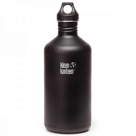 Klean Kanteen classic 64oz 1893ml bottle - shale black