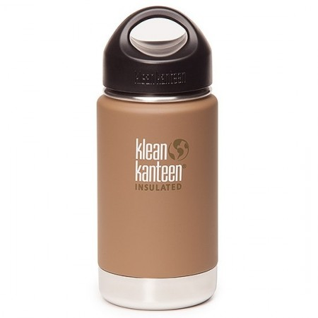 Klean kanteen wide insulated bottle 16oz 473ml - coyote Brown