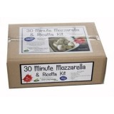 Green living 30 minute mozzarella & ricotta cheese kit