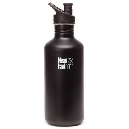 Klean kanteen classic 40oz 1182ml Stainless Steel Water Bottle - shale black