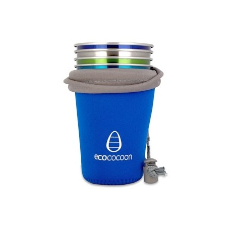 Ecococoon cup cuddler cover - blue sapphire