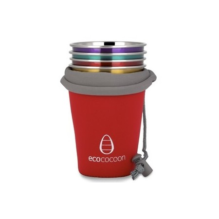 Ecococoon cup cuddler cover - red ruby