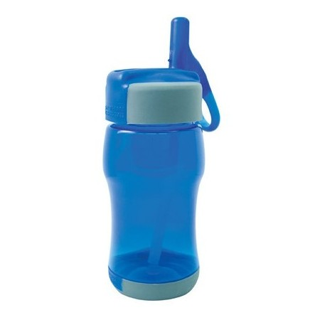 Nathan flip straw BPA free kids bottle 320ml - royal blue