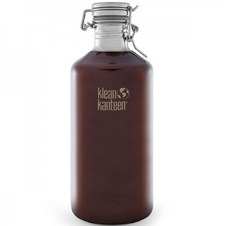 Klean Kanteen Growler 64oz 1.9L Stainless Steel - Amber