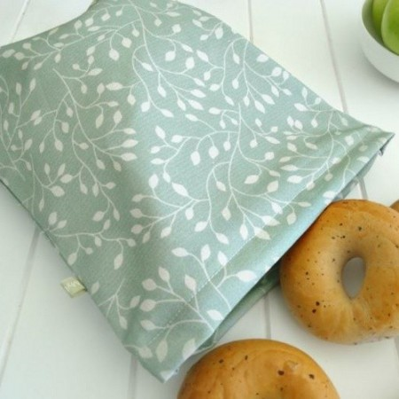 4MyEarth reusable cloth bread bag - leaf