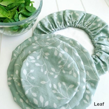 4MyEarth food cover set (4) - leaf