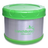 LunchBots Thermal insulated container 500ml 16oz - lime green