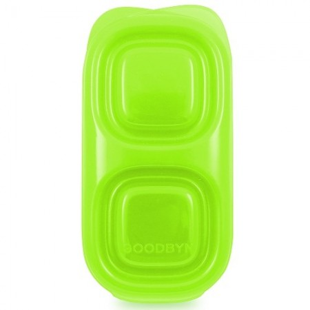 Goodbyn snacks container 236ml - green