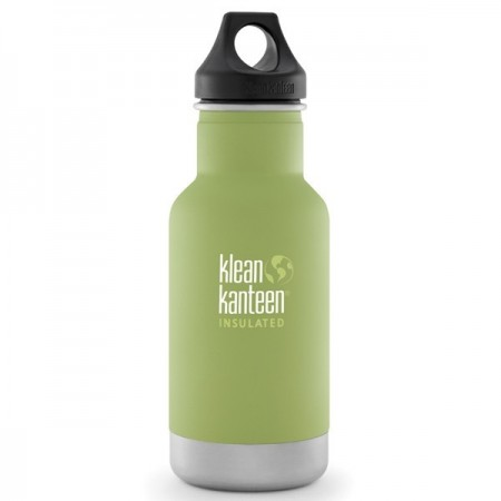 Klean Kanteen classic insulated 12oz 355ml Water Bottle - bamboo leaf