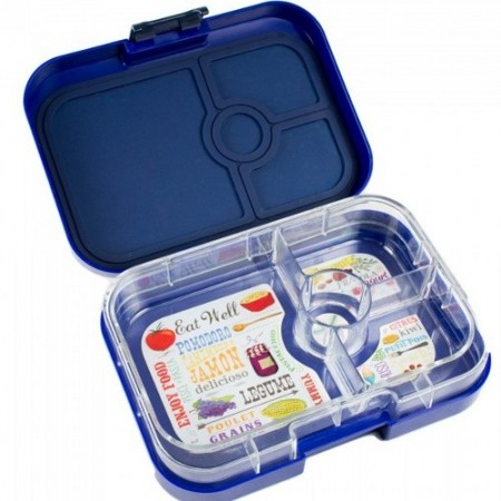 yumbox bento lunch box panino frutti blue australia buy online or brisbane store. Black Bedroom Furniture Sets. Home Design Ideas