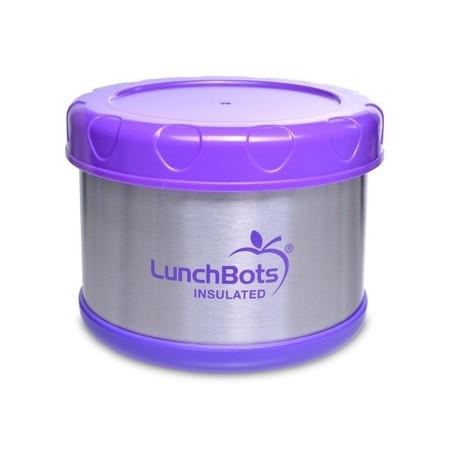 LunchBots Thermal insulated container 500ml 16oz - purple