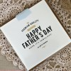 Letterpress foil card - father's day fabulous