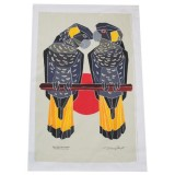 The Linen Press - Black Cockatoo Tea Towel