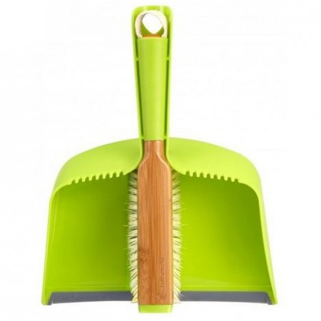 Full Circle clean team dustpan & brush set