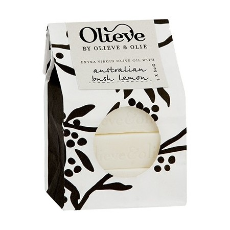 Olieve soap bars 3 x 80g - goats milk fragrance free
