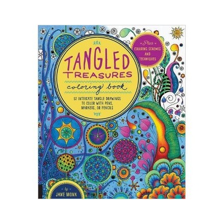 Tangled Treasures colouring book