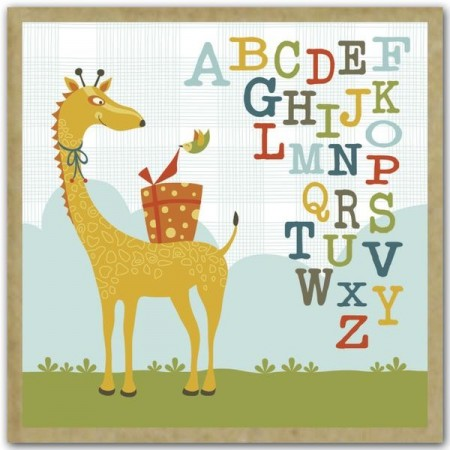 teNeues gift card set (16) - whimsical safari