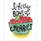 teNeues greeting card set (16) - fruitful expressions cherries