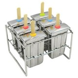 Onyx stainless steel ice block mould - paddle pop
