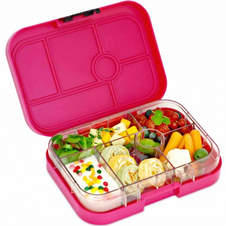 yumbox leak proof lunch box pink biome. Black Bedroom Furniture Sets. Home Design Ideas