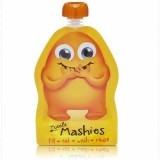 Little Mashies Reusable Squeeze Pouch 2 Pack Orange