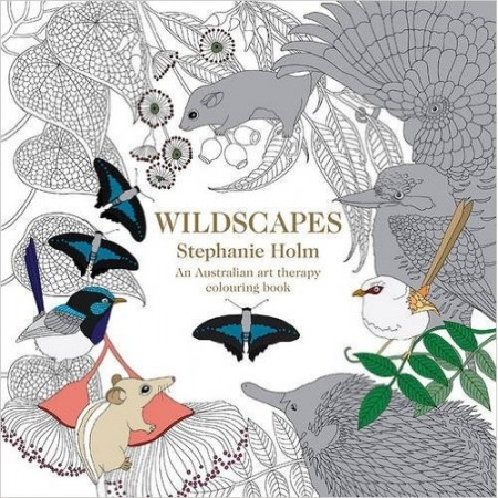 Wildscapes colouring book