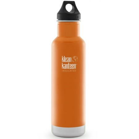 Klean Kanteen classic insulated 20oz 592ml Water Bottle - canyon orange