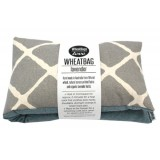 WheatBags herbal heat pack - Lavender geometric blue