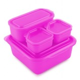 Goodbyn portions on the go - pink