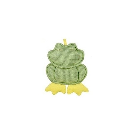 Dandelion baby toy - frog with rattle