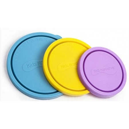 Kids Konserve nesting trio replacement lids (3) - sky