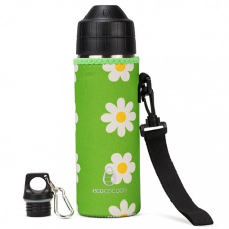 Ecococoon Large Bottle Cuddler - daisy flowers