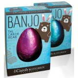 Banjo carob easter egg - Australian grown and made