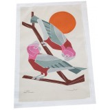 The Linen Press - Galah Tea Towel
