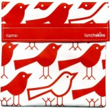 Lunchskins Large Sandwich Bags - Big Bag (Red Bird)
