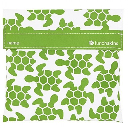 Lunchskins Sandwich Bag Green Turtle