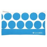 Lunchskins small reusable zip bag - Aqua Dot