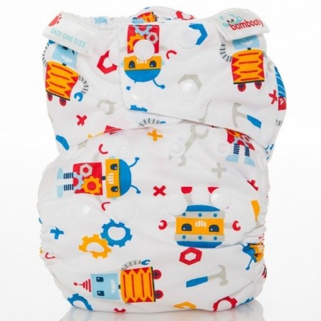 Bambooty  nappies - easy one size (mini bots)